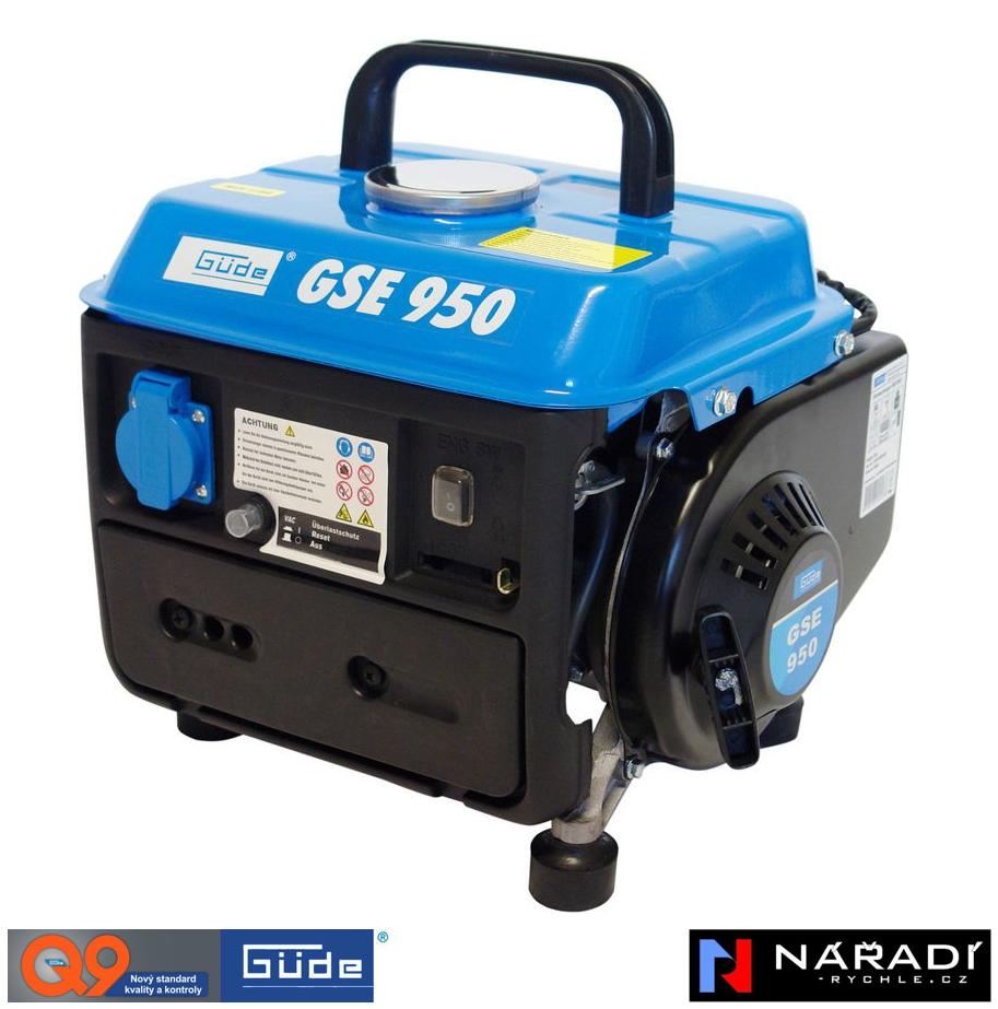 Elektrocentrála benzínová Güde GSE 950