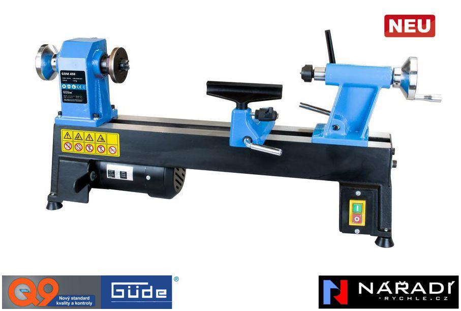Soustruh na dřevo Güde GDM 450 - 11431