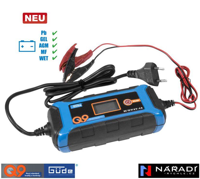 Automatická nabíječka baterií Güde GAB 4 A - 85141