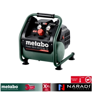 Aku kompresor Metabo POWER 160-5 18 LTX BL OF