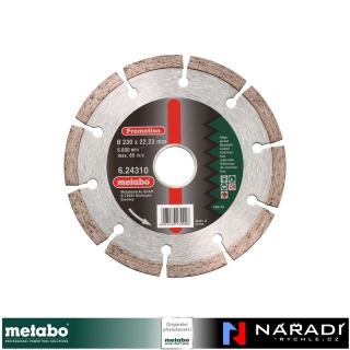 "Diamantový kotouč Metabo Dia-TS ""SP"", 230x22,23 mm, Universal"