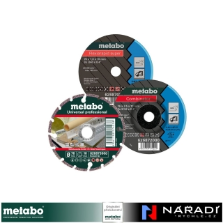 Sada kotoučů Metabo Ø 76 mm, 3ks