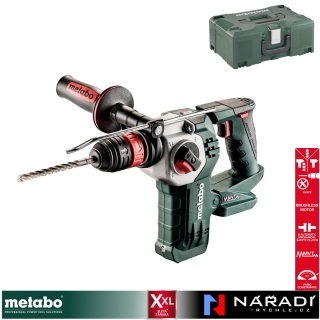 Aku kladivo Metabo KHA 18 LTX BL 24 Quick, MetaBox