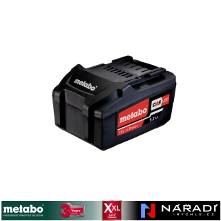 Akumulátor 5,2 Ah Li-POWER Metabo, 18 V