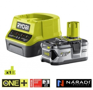 BATTERY PACK 1×4,0 Ah - RYOBI RC18120-140, 18V ONE+