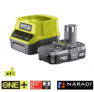 BATTERY PACK 1×1,3 Ah - RYOBI RC18120-113, 18V ONE+