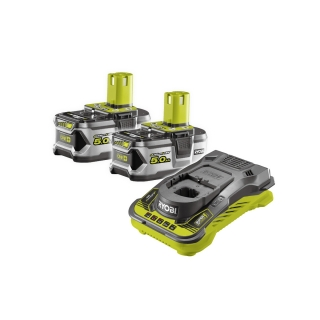 BATTERY PACK 2×5,0 Ah RYOBI RC18150-250, 18V ONE+
