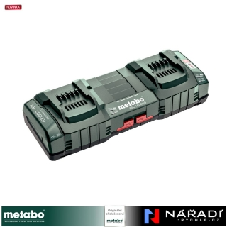 "Nabíječka Metabo ASC 145 DUO, 12-36 V, ""AIR COOLED"", EU"