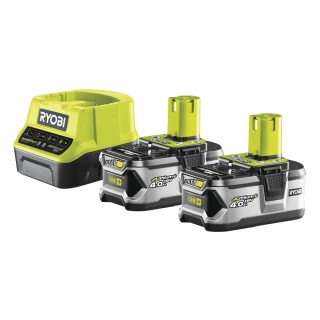 BATTERY PACK 2×4,0 Ah RYOBI RC18120-240, 18V ONE+